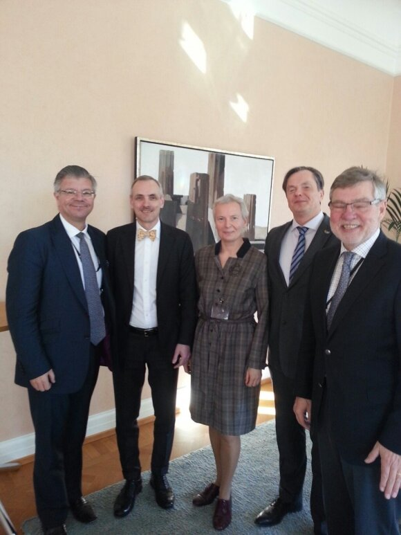 Parliamentary Baltic Network group established at Swedish Parliament