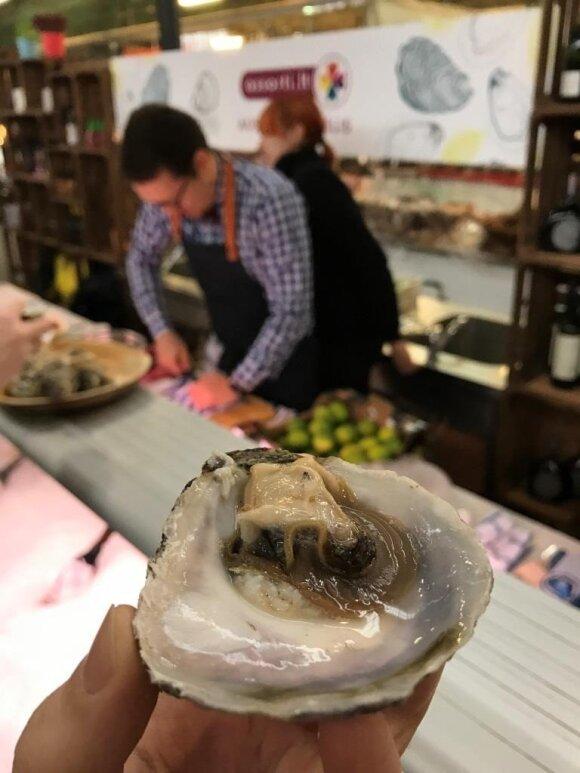 Lietuviai per savaitgalį iš restoranų iššlavė visas austres