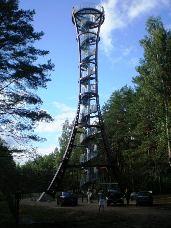 Apžvalgos bokštas Labanoro regioniniame parke