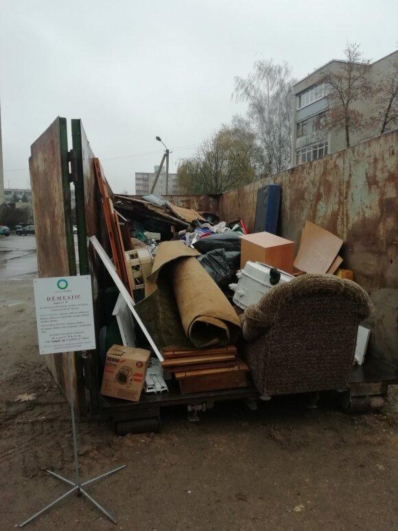Specifinių atliekų surinkimo akcija
