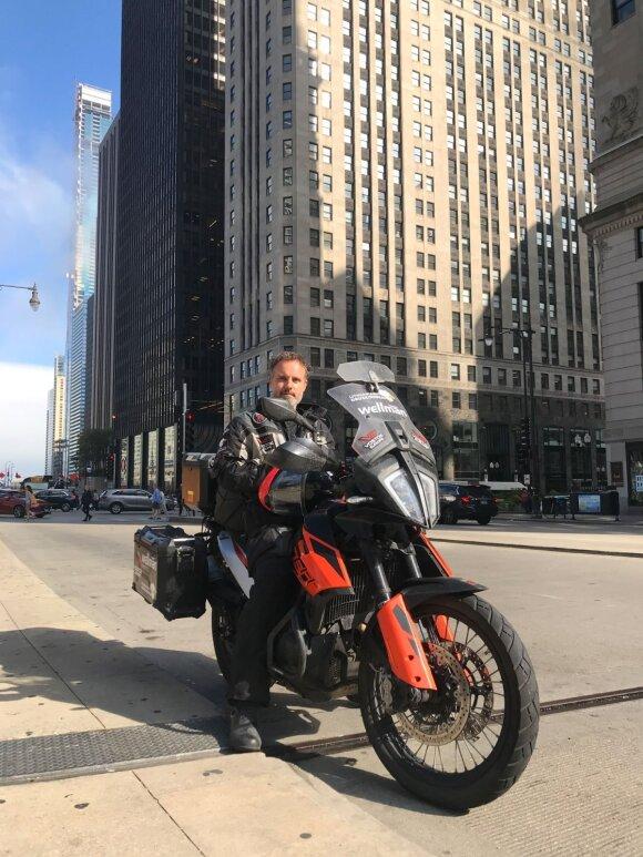 Karolis Mieliauskas Čikagoje