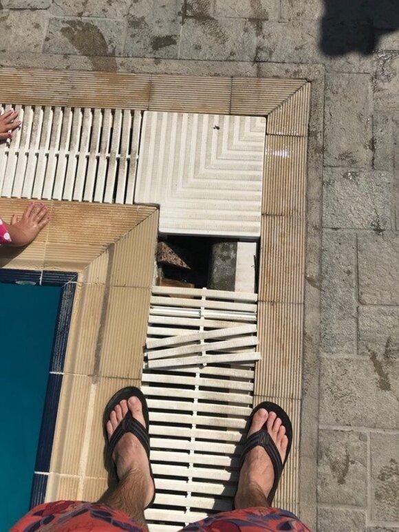 Pateko į atostogų košmarą Rodo saloje: teko reikalauti, kad bent jau būtų elektra ir vanduo