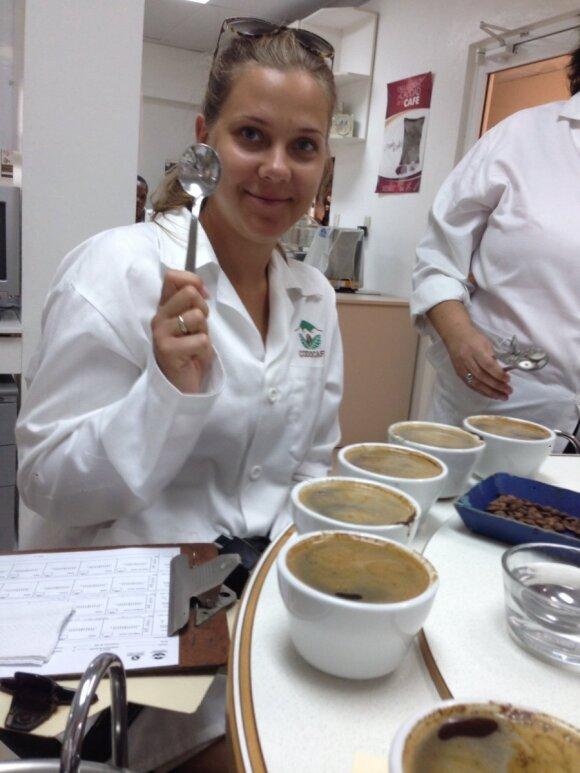 Visa tiesa apie kavą - iš kavos ruošimo čempionės lūpų