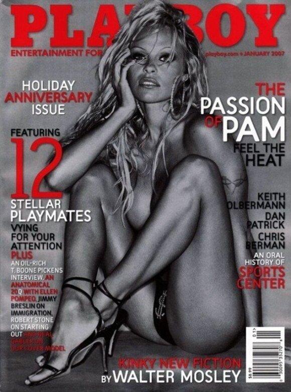 "Pamela Anderson (""Playboy"" nuotr.)"