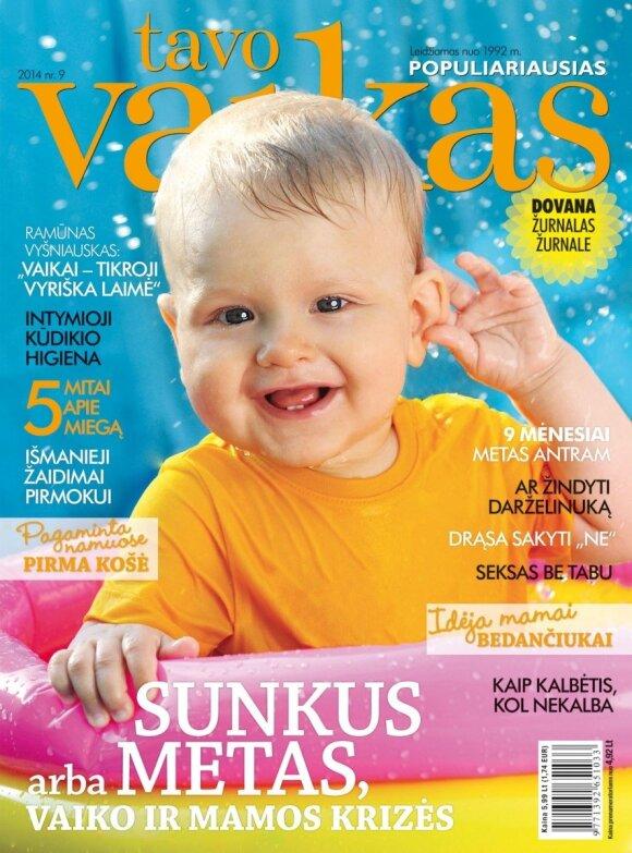 Renkame šauniausią 2014 metų TAVO VAIKO viršelį