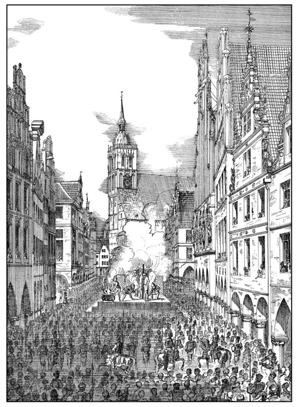 Jano van Leideno egzekucija