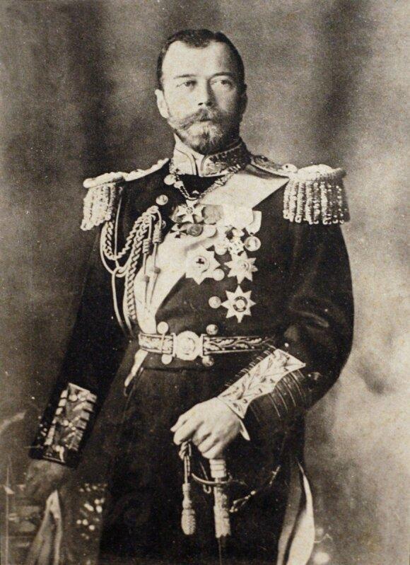 Rusų Caras Nikolajus II