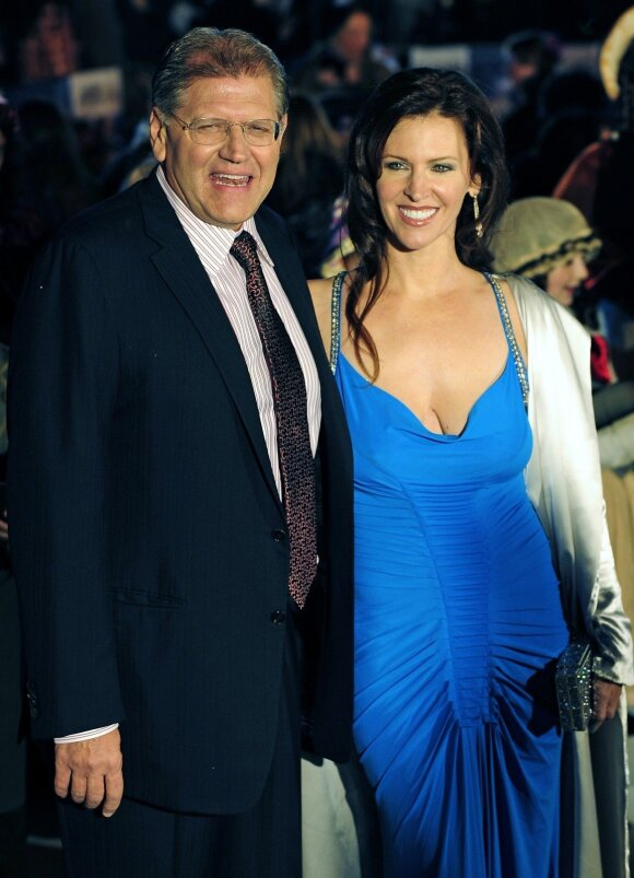 Robert Zemeckis and his wife Leslie