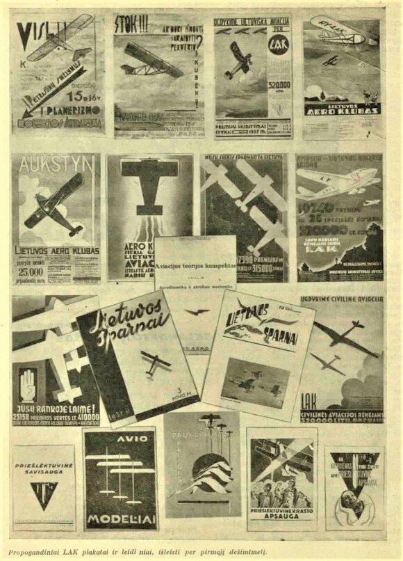 Lietuvos Aviacijos Istorija 1919 - 1940 m., www.plienosparnai.lt nuotr.