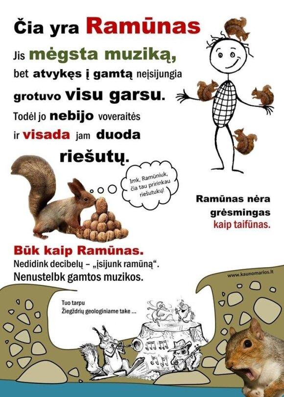Kauno marių regioninio parko plakatai