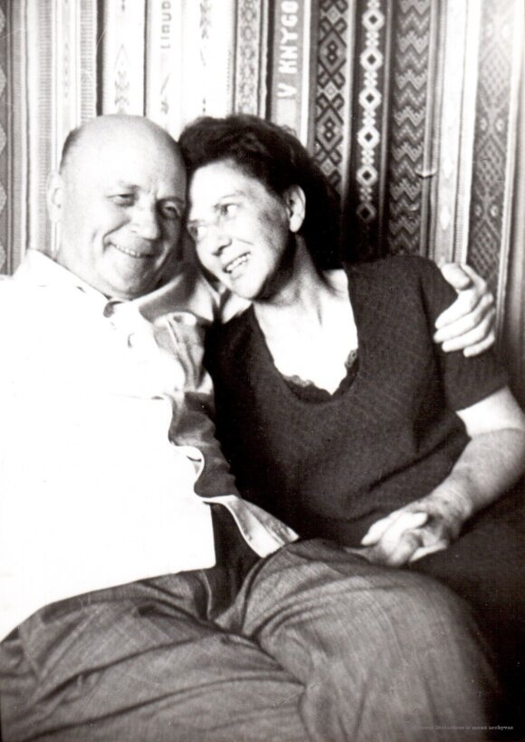 Juozas Baltušis ir Monika Mironaitė
