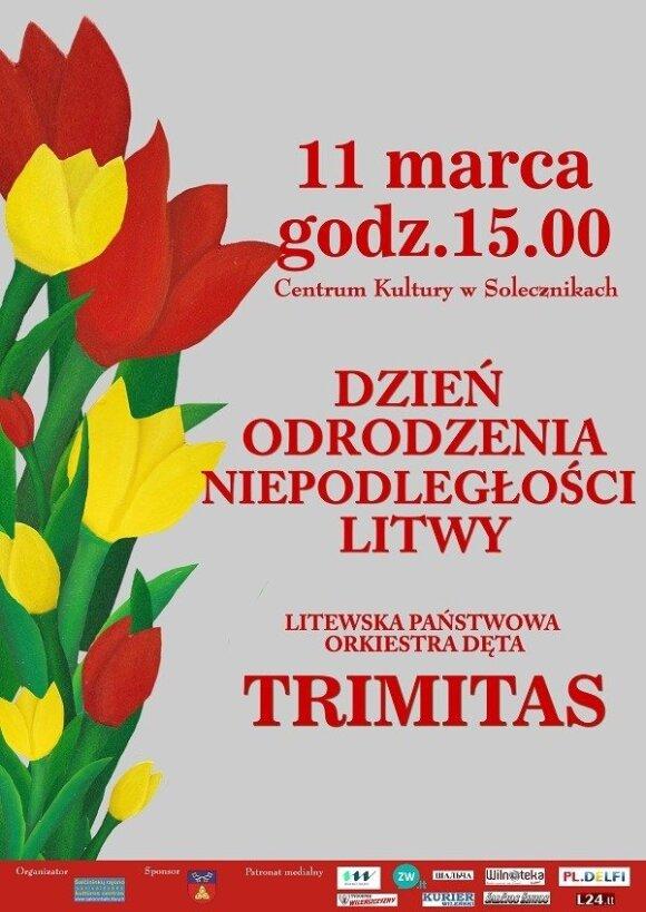 Dzień Odrodzenia Niepodległości Litwy w Solecznikach