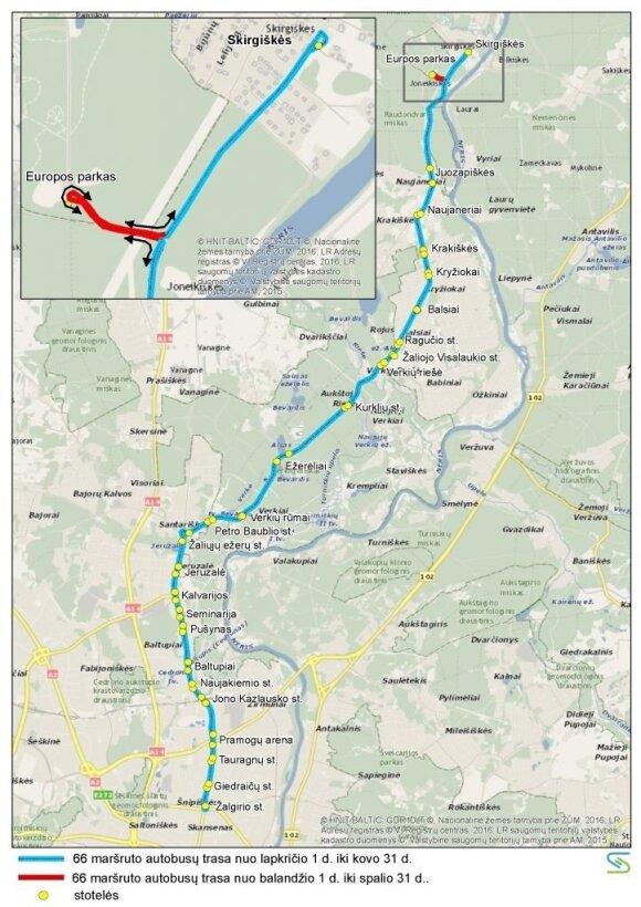 Nuo lapkričio 1 d. – pokyčiai sostinės autobusų maršrutuose