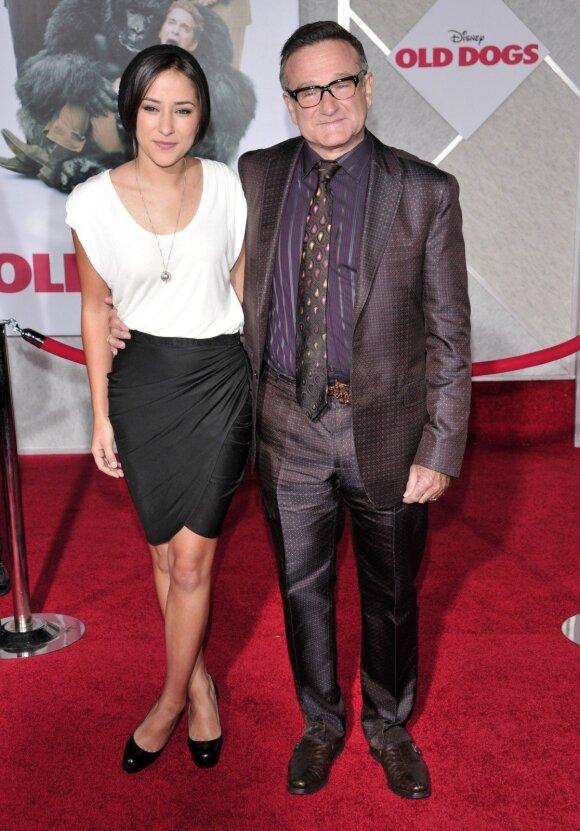 Tragiškai gyvenimą baigusio Robino Williamso dukra užaugo: netektis įkvėpė nenuleisti rankų