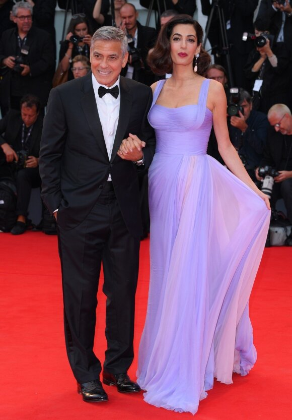 Georgas Clooney ir Amal Clooney