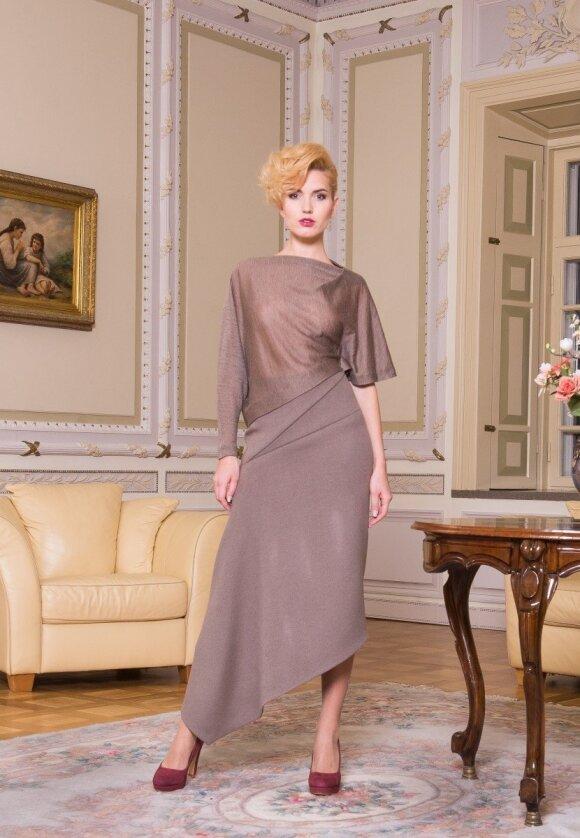 A. Bunikienė: kūriau elegantiškai moteriai, kuri mėgsta puoštis