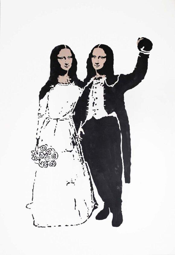 """Laisvydė Šalčiūtė, """"Mona Liza ir Mona Liza"""""""