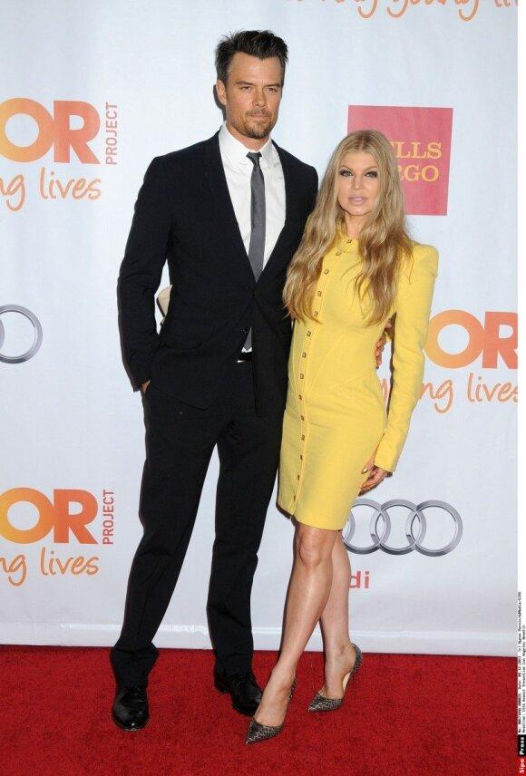 Fergie su vyru Joshu