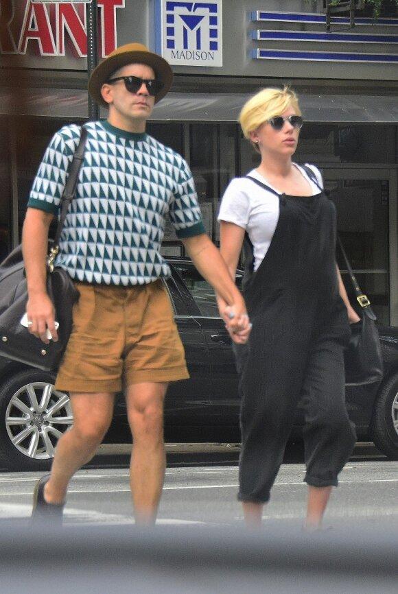 Scarlett Johansson susilaukė dukters ir jau išrinko vardą