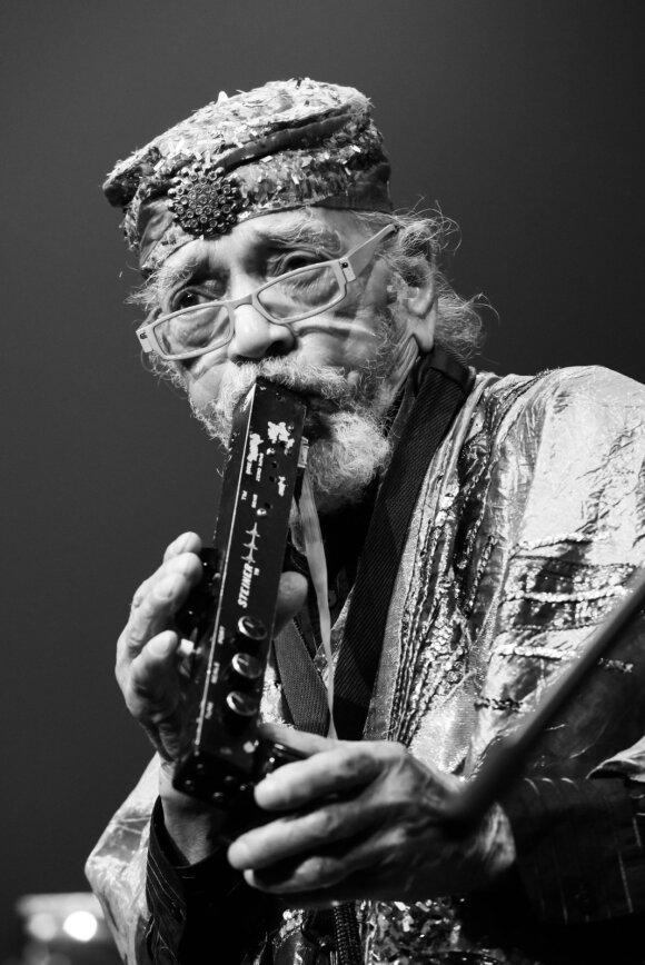Saksofonininkas Marshall Allen