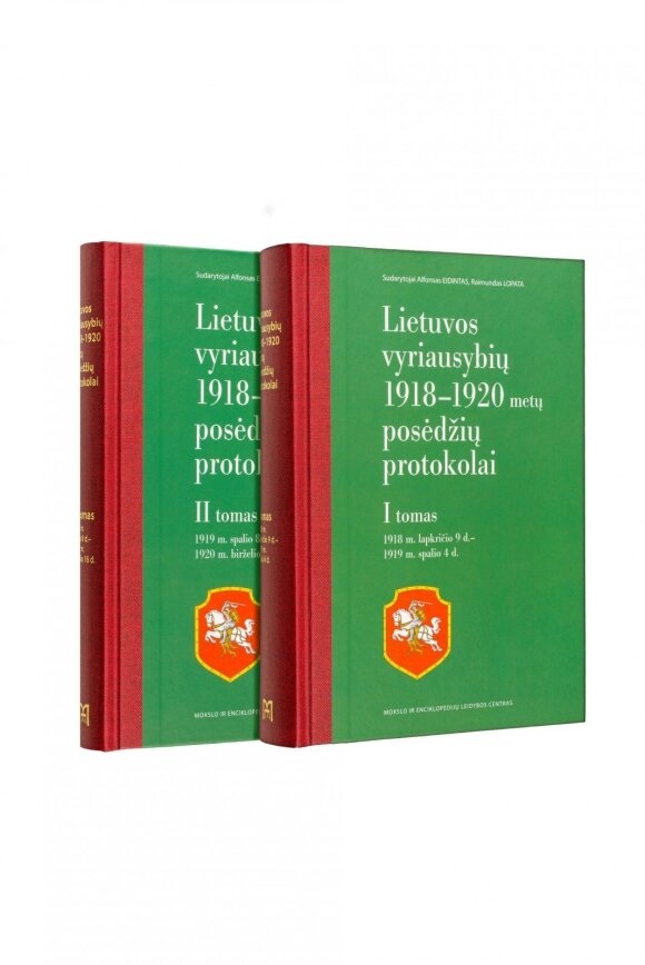 Lietuvos Vyriausybių 1918–1920 metų posėdžių protokolai