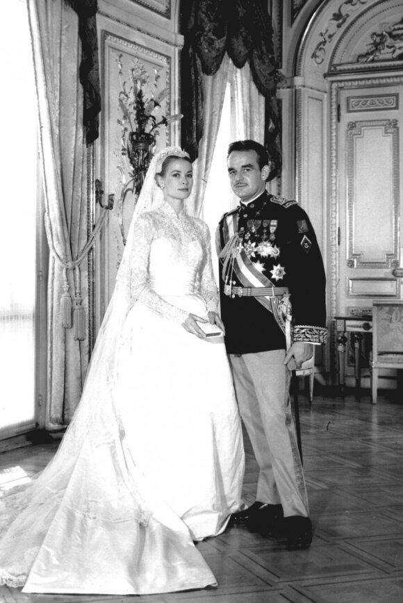 Grace Kelly ir Monako princas Rainier III