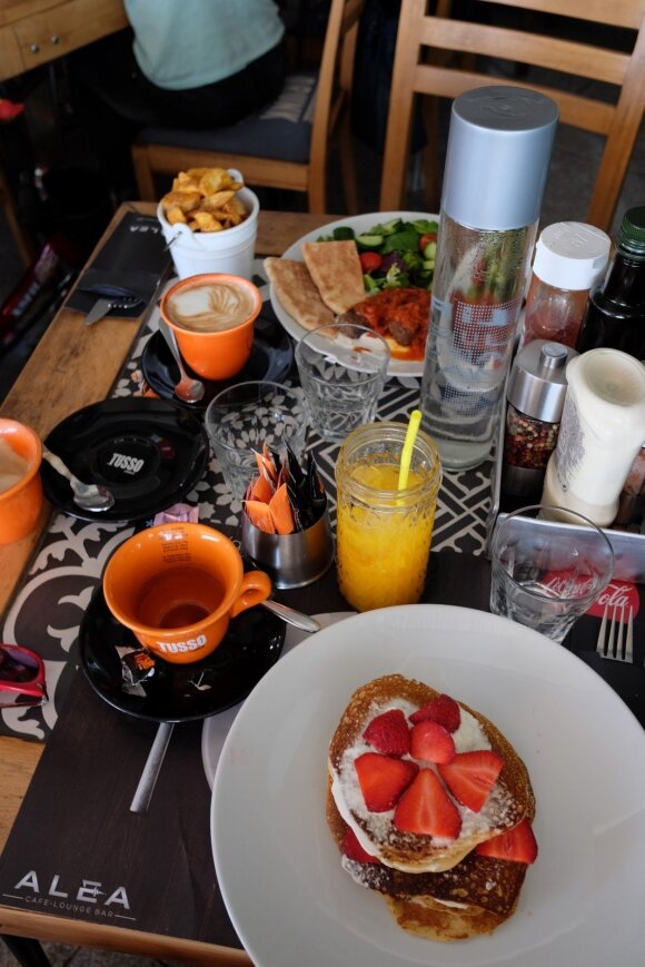 "Pusryčiai ""Alea"" bare"