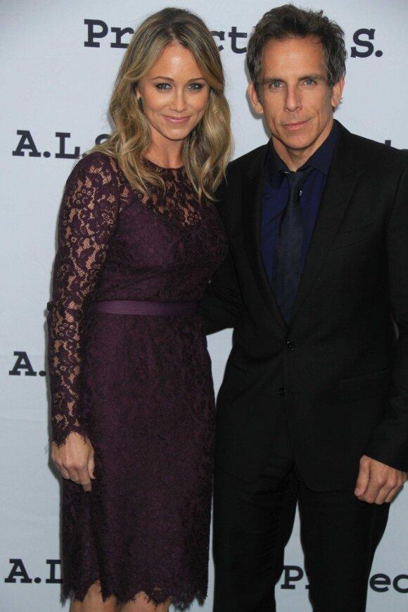 Benas Stilleris ir Christine Taylor