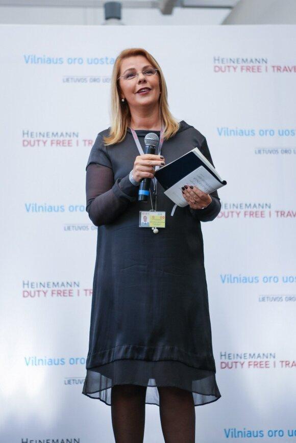 """""""Travel Retail Vilnius"""" įmonės vadovė Orinta Amelija Ambrazevičienė"""