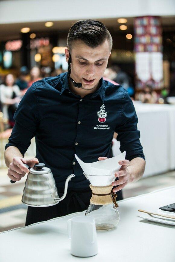 """""""Coffee Week Lithuania"""" - nemokami kavos renginiai ir čempionatai visoje Lietuvoje"""