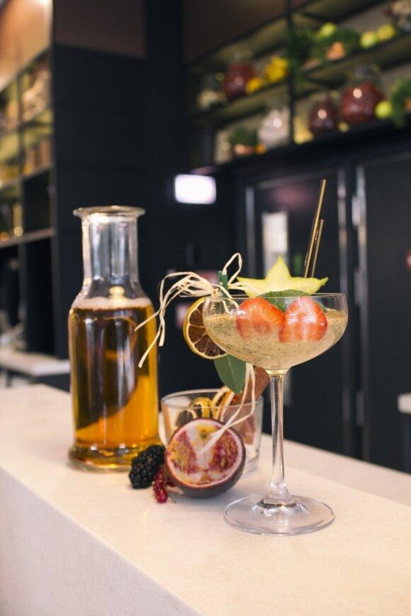 Įveikite karščius atsigaivindami sveikuolišku šefo kokteiliu