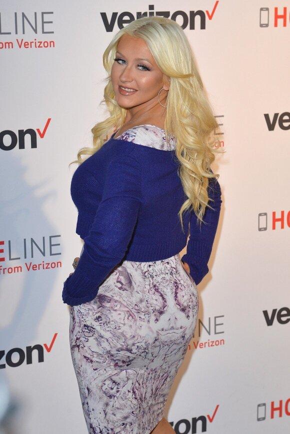 Christina Aguilera 2015 metų gruodį