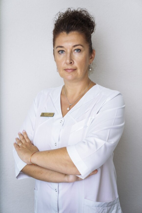 Gydytoja Jovita Jočienė