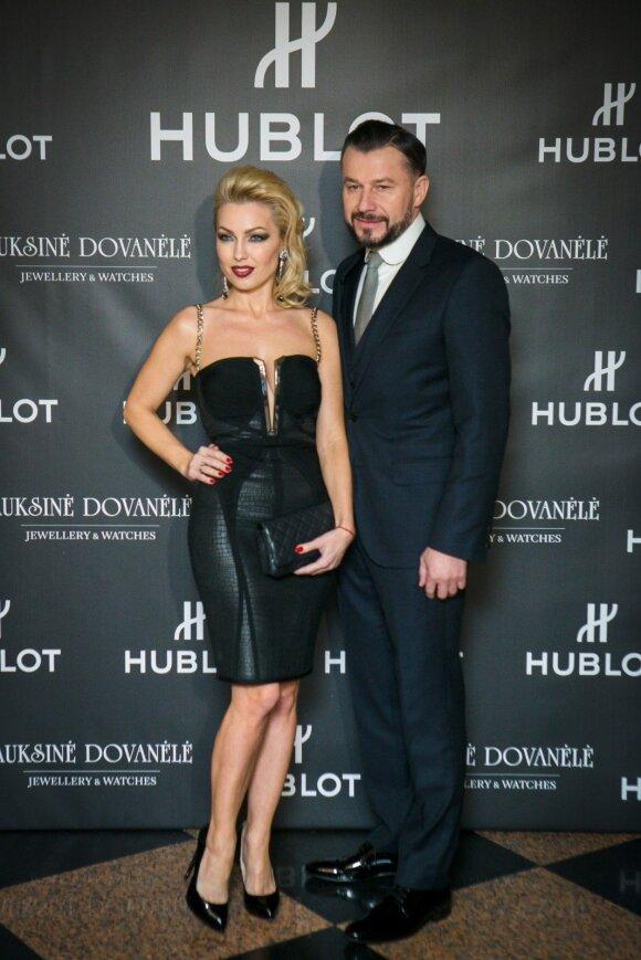 Sigitas Martinavičius su žmona Natalija