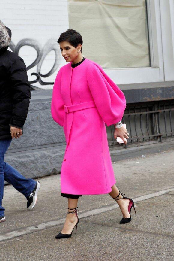 """""""Vogue Arabia"""" redaktorė Deena Abdulaziz"""
