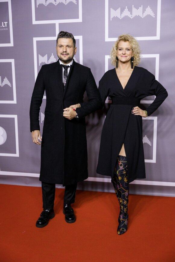 Dominykas Kubilius ir Laura Paukštė