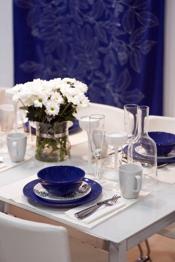 Interjero spalvų gidas: karališka mėlyna