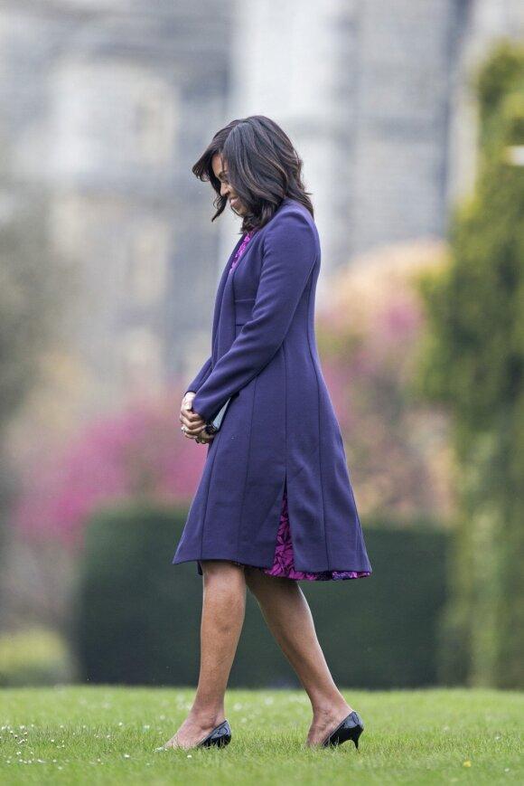 Buvusi pirmoji JAV ponia Michelle Obama