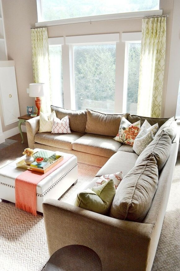 8 patarimai mažų erdvių interjero dekoravimui