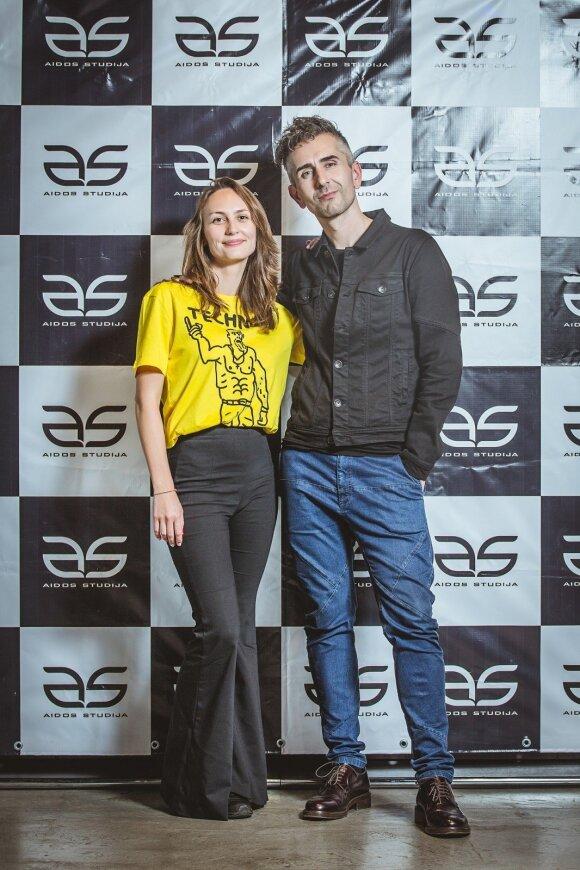 Arnoldas Remeika ir Ieva Zubavičiūtė