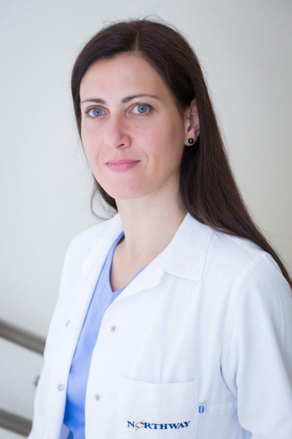 """Northway medicinos centrų"" šeimos gydytoja dr. Asta Mastavičiūtė"