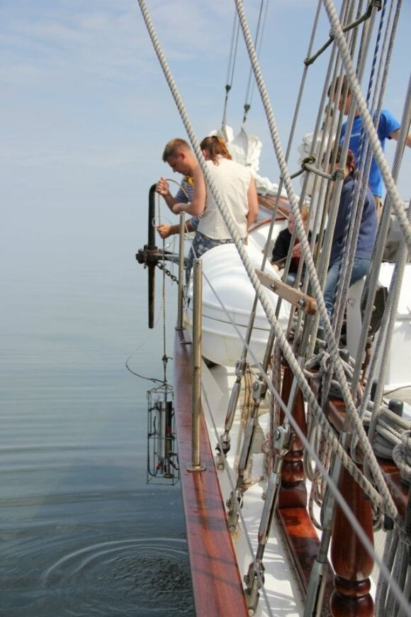 Tyrimai jūroje
