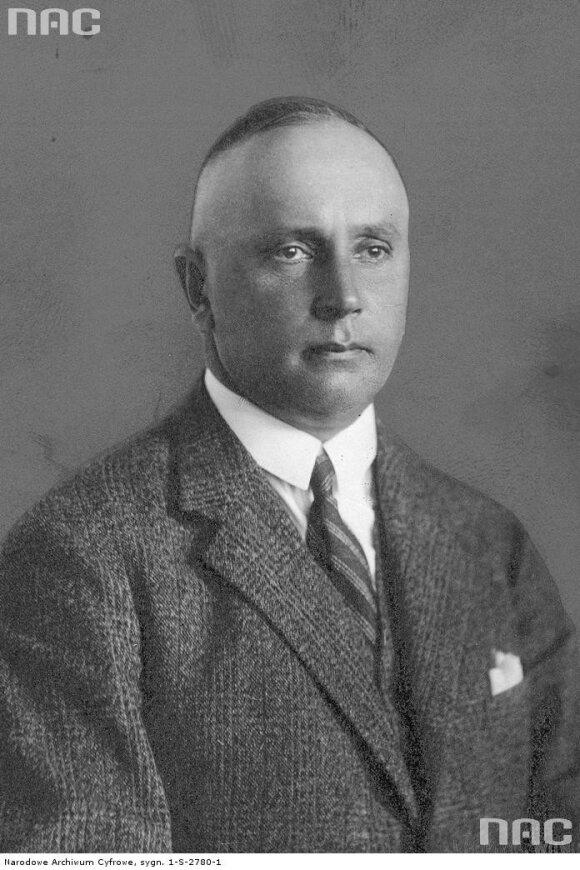 Pirmas Vilniaus automobilių klubo pirmininkas grafas Karol Vagner. NAC