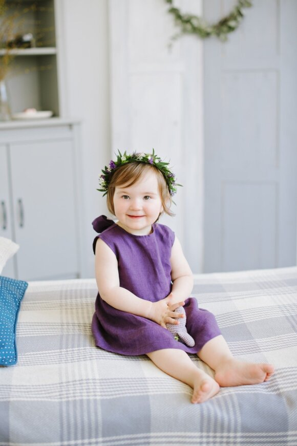 Žindymo sukneles pradėjusi kurti Monika: kartais motinystė pažadina pačius keisčiausius norus