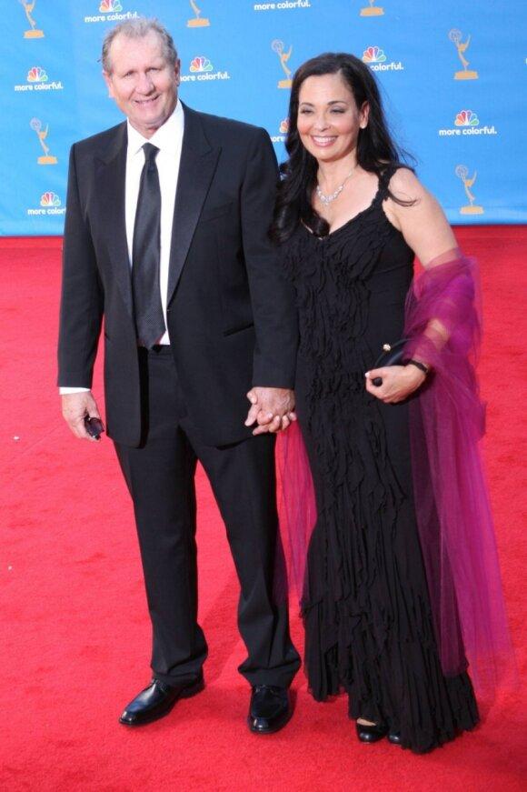 Edas O'Neillas su žmona Catherine Rusoff