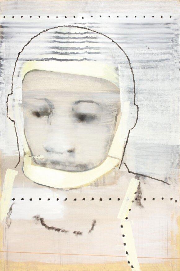 """Jonas Gasiūnas. """"Užrašyk ant skafandro savo vardą, aš negirdžiu tavęs"""" (2009)"""