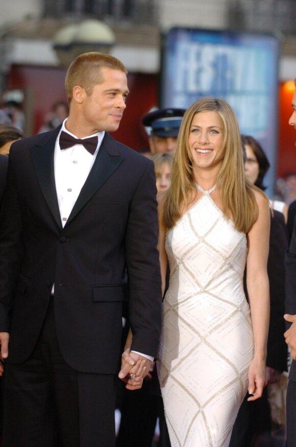 Bradas Pittas, Jennifer Aniston