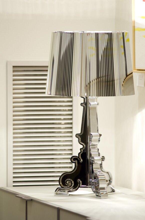 Interjero puošmenos - dekoratyvūs staliniai šviestuvai