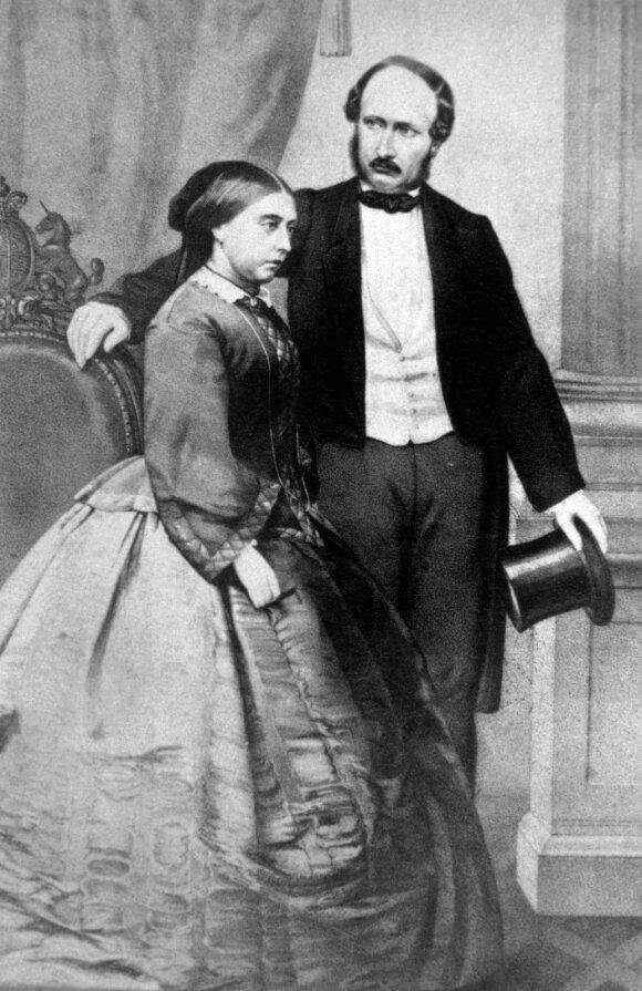 Karalienė Viktorija ir princas Albertas