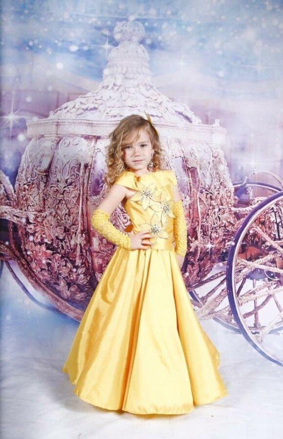 Grožio konkursai garsina lietuvės 4 metų dukterį visame pasaulyje <sup>(FOTO)</sup>